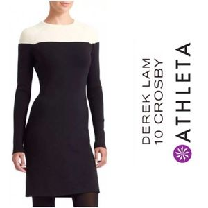 🆕Athleta + Derek Lam 10 Crosby Colorblock Dress